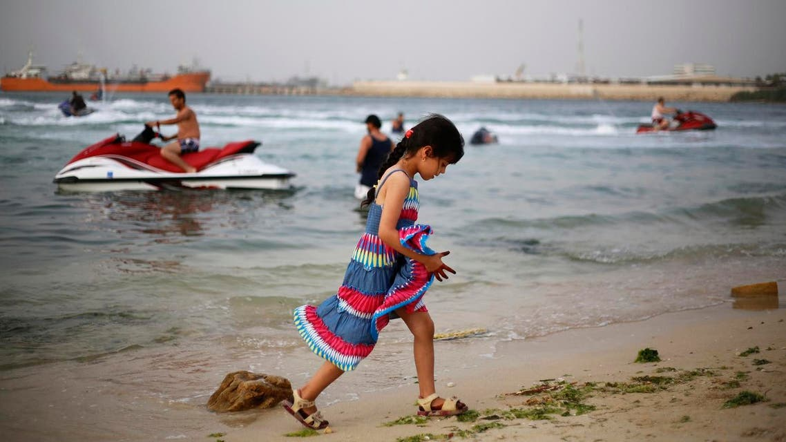 A Libyan girl plays at the beach in Tripoli May 24, 2014. (File photo: Reuters)