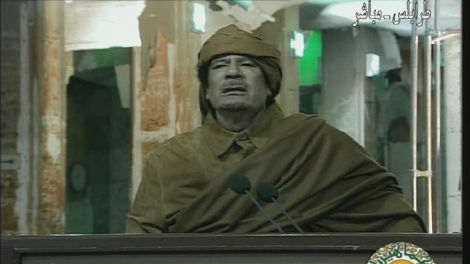 نتيجة بحث الصور عن القذافي والثورة الليبية 2011