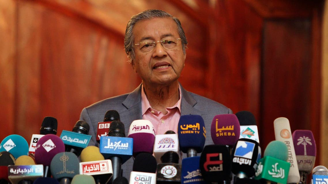 Mahathir Mohamad speaks during a conference in Sanaa, Yemen, on June 7, 2012. (Reuters)