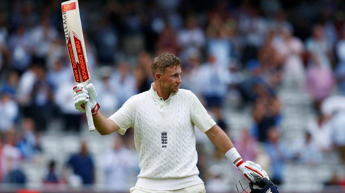England's Joe Root reacts at the end of the innings in the first Test against South Africa on July 6, 2017. (Reuters)