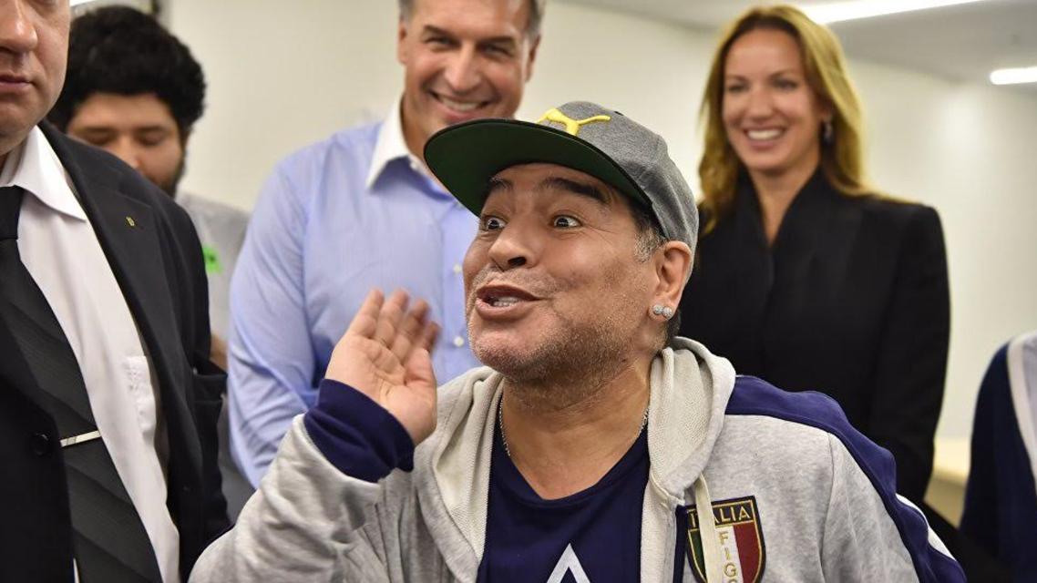 مارادونا شهروند افتخاری ناپل ایتالیا انتخاب شد