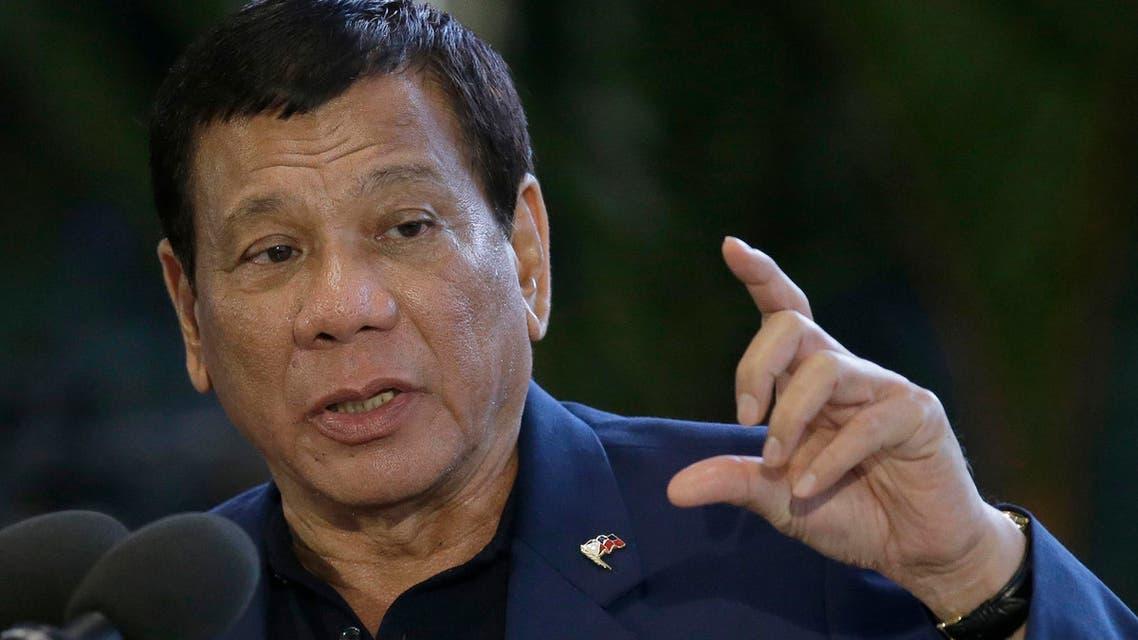 Philippine President Rodrigo Duterte  الرئيس الفلبيني دوتيرتي