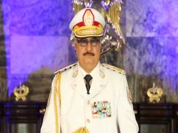 """حفتر يعلن """"التحرير الكامل"""" لبنغازي من المتطرفين"""