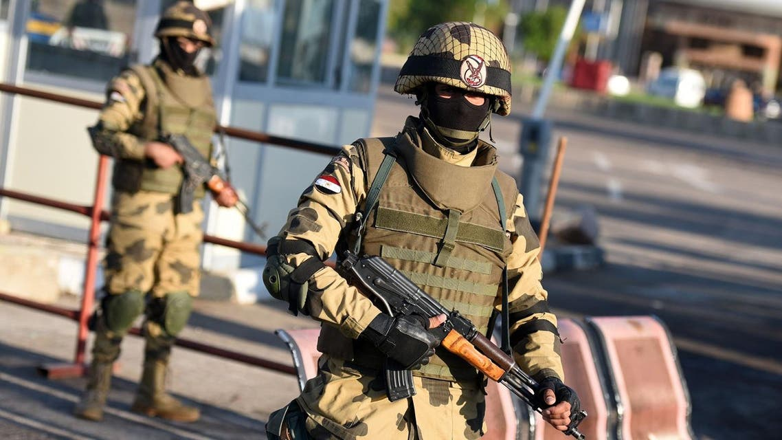 The Egyptian military said it killed the assailants as it clashed with extremists in North Sinai. (File photo: AFP)