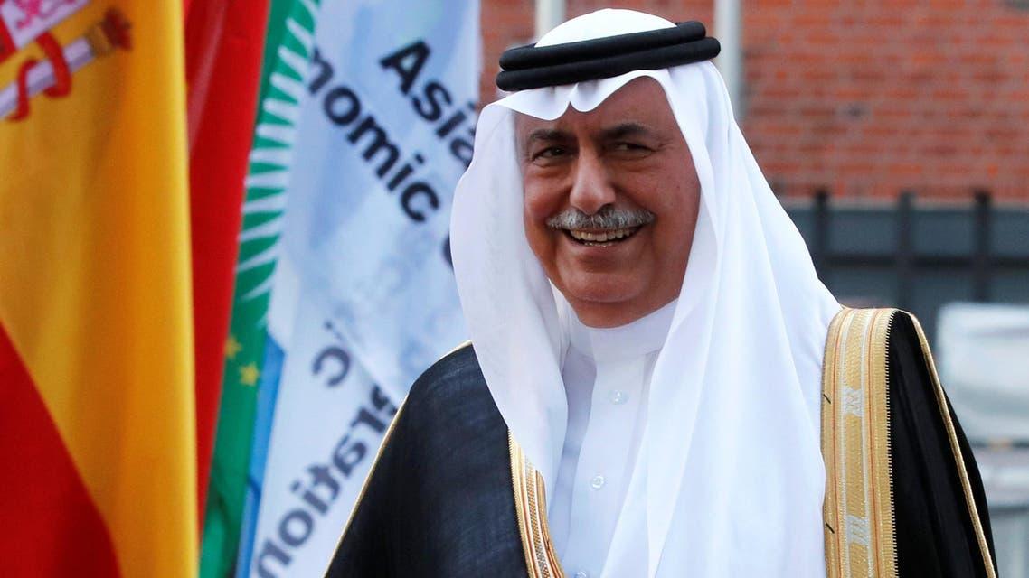 Saudi Arabia Minister of State Ibrahim Abdulaziz Al-Assaf is seen at the G20 summit in Hamburg, Germany July 7, 2017