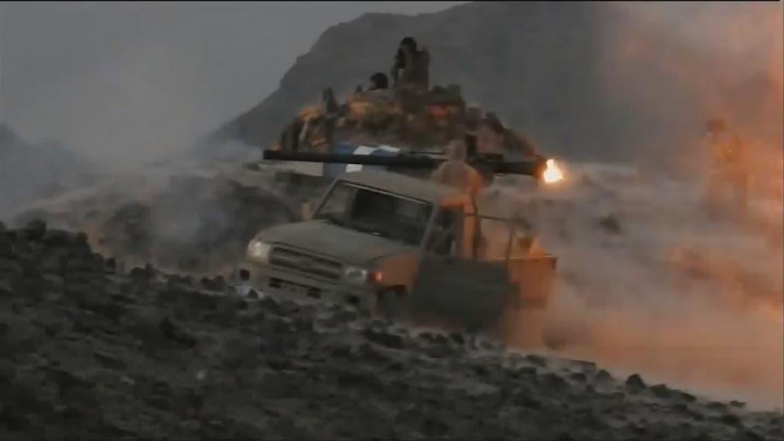 THUMBNAIL_ غارات التحالف تقطع طرق إمدادات الميليشيات الحوثية