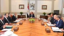 السيسي يعقد اجتماعاً أمنياً لبحث تداعيات هجوم سيناء