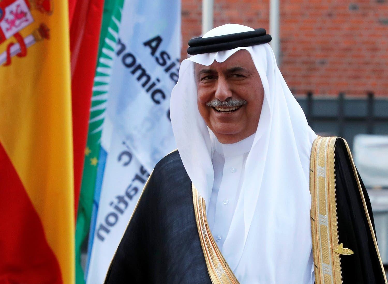 Saudi Arabia Minister of State Ibrahim Abdulaziz Al-Assaf at the G20 summit in Hamburg, on July 7, 2017. (Reuters)