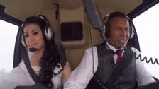 VIDEO: Tragic footage shows moment bride killed in helicopter crash
