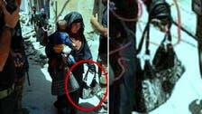 """طفل حملته أمه """"الداعشية"""" للتمويه ثم فجرت نفسها وقتلته"""
