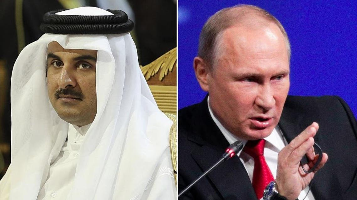 Russia is expected to stand beside Arab countries under Saudi Arabia's leadership against Qatar. (Reuters/AP)