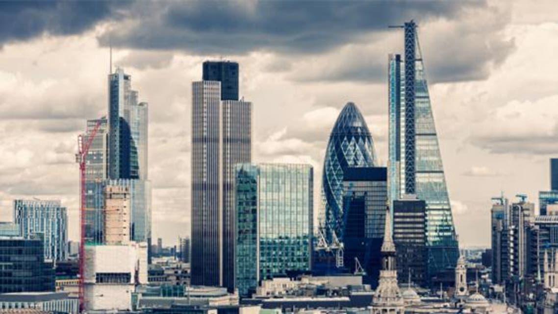 شارع المركز المالي في لندن