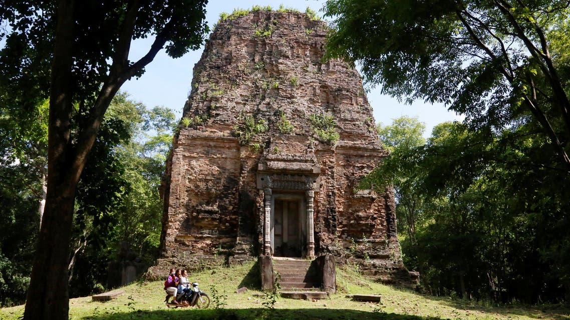 Sambor Prei Kuk temple, an archaeological site of Ancient Ishanapura, is seen in Kampong Thom province, Cambodia May 20, 2017. Reuters)