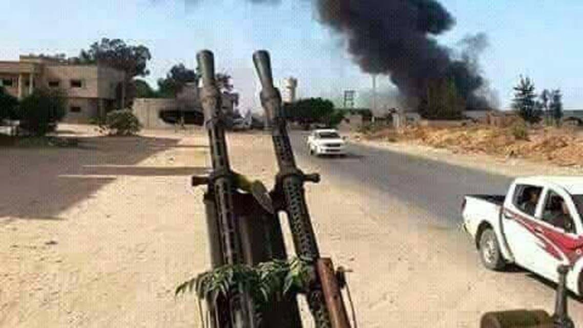 اشتباكات قرب طرابلس