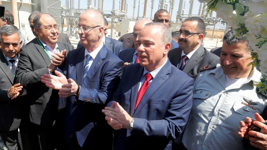 celebratio reuters electricity west bank