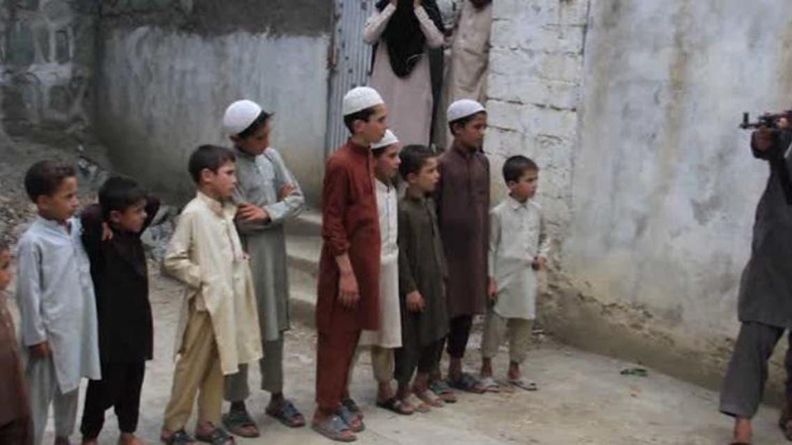 غزنی... جلوگیری از انتقال 25 کودک که قرار بود آموزش انتحاری بیبینند