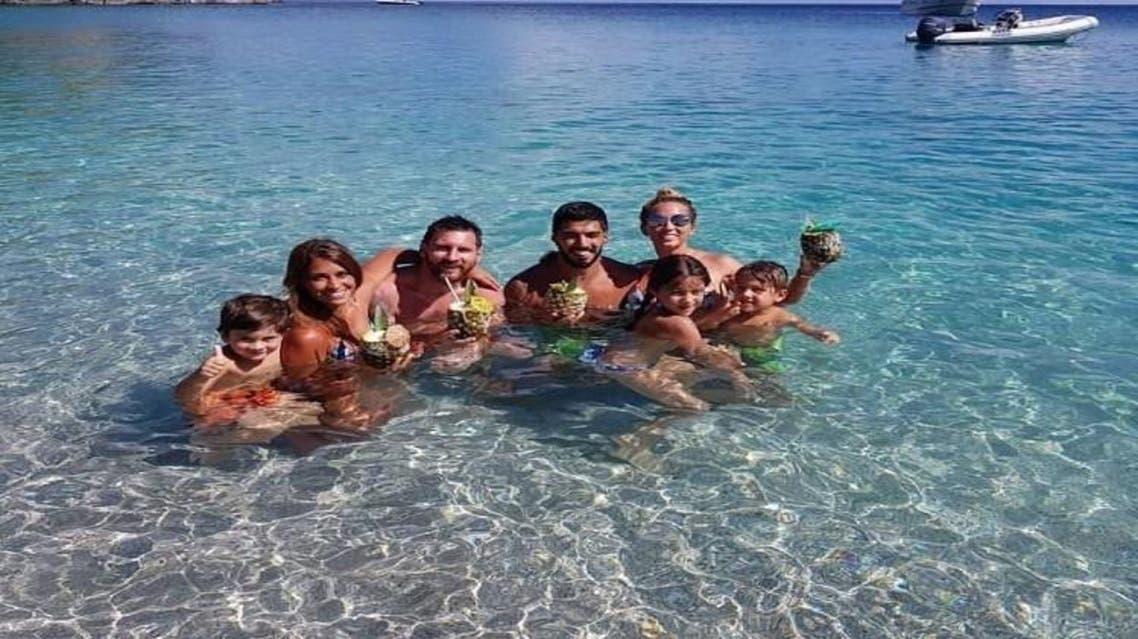 تصویری.. مسی و رونالدو چگونه تعطیلات تابستانی خود را میگذرانند؟