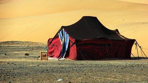 بيوت العرب قديماً كانت تسكنها ملكات جمال - توضيحية