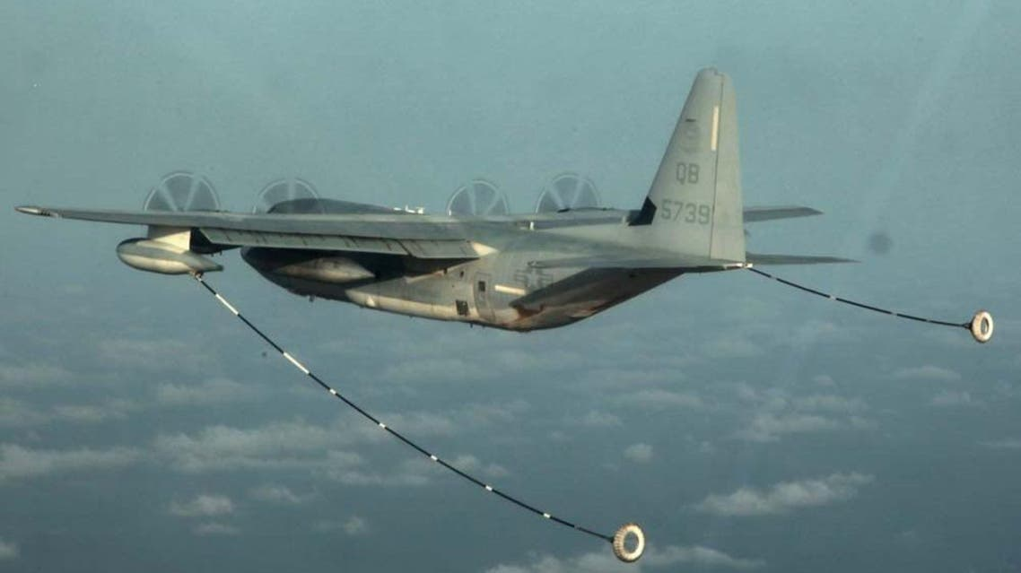 A KC-130 Hercules with Marine Medium Helicopter Squadron 364 (Rein.), 15th Marine Expeditionary Unit. (File photo: Reuters)