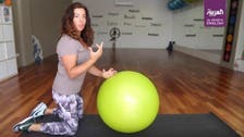 WATCH: How to train your six pack muscles AND ease lower back pain