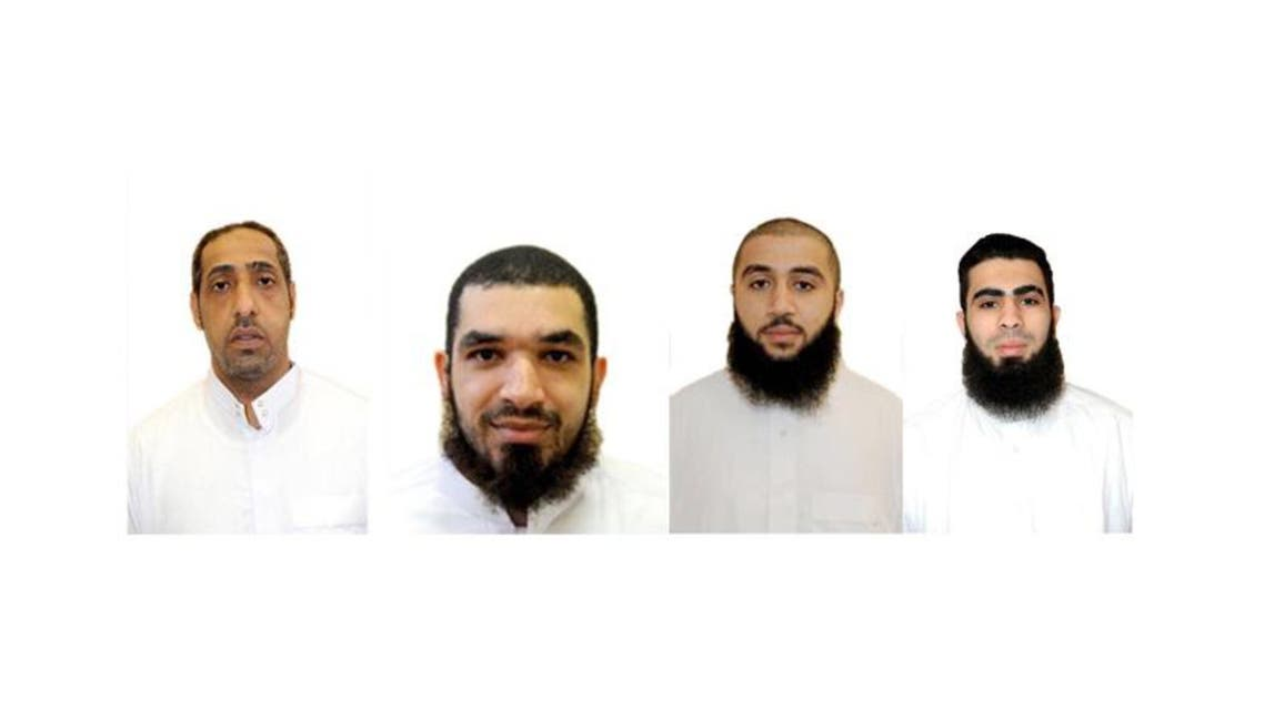 A statement from the Saudi Interior Ministry named the convicts as Amjad Naji al-Moebid, Zaher Abdulrahim al-Basri, Yousif Ali Almushaikhis and Mahdi Mohammed Hassan Sayegh.