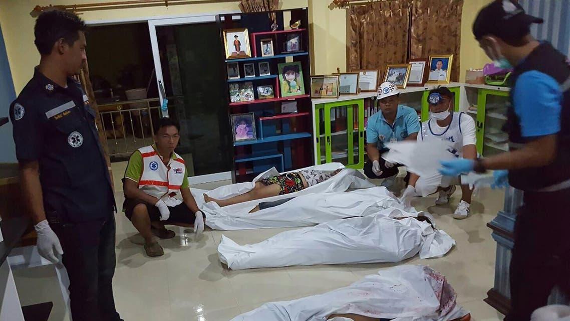 من الحادثة في تايلاند
