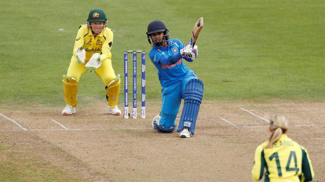 Cricket - Australia vs India - Women's Cricket World Cup - Bristol, Britain - July 12, 2017 India's Mithali Raj in action. (Reuters)