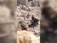 """بالفيديو.. عناصر """"داعش"""" يسلمون أنفسهم للجيش العراقي"""
