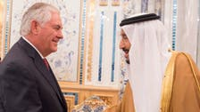 سعودی شاہ سلمان سے ریکس ٹیلرسن کا دہشت گردی سے نمٹنے کے طریقوں پر تبادلہ خیال