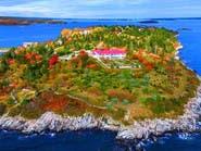 جزيرة في أميركا للبيع مع 3 بيوت بأقل من 8 ملايين دولار