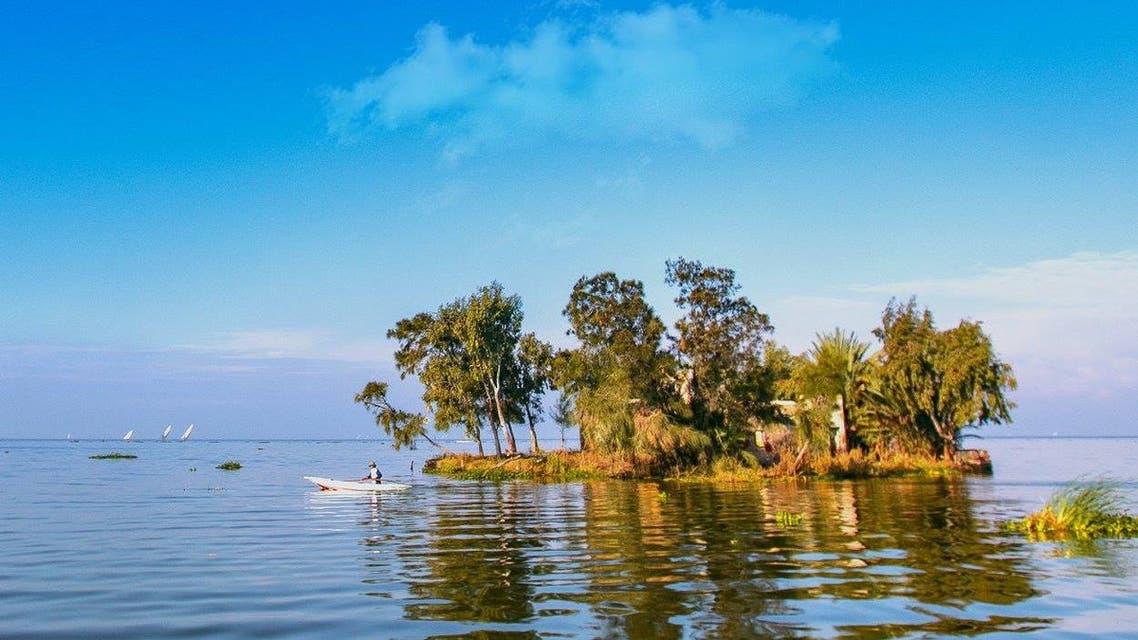 منزل في نهر النيل