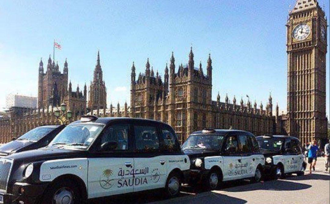 saudi london taxi