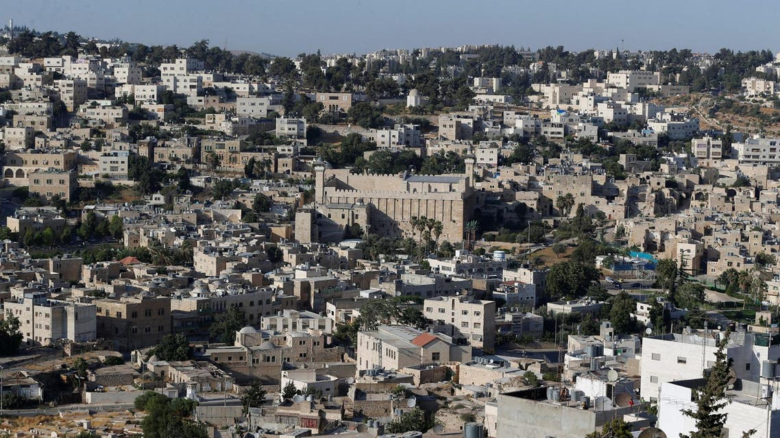 A general view of the West Bank city of Hebron July 7, 2017. (Reuters)