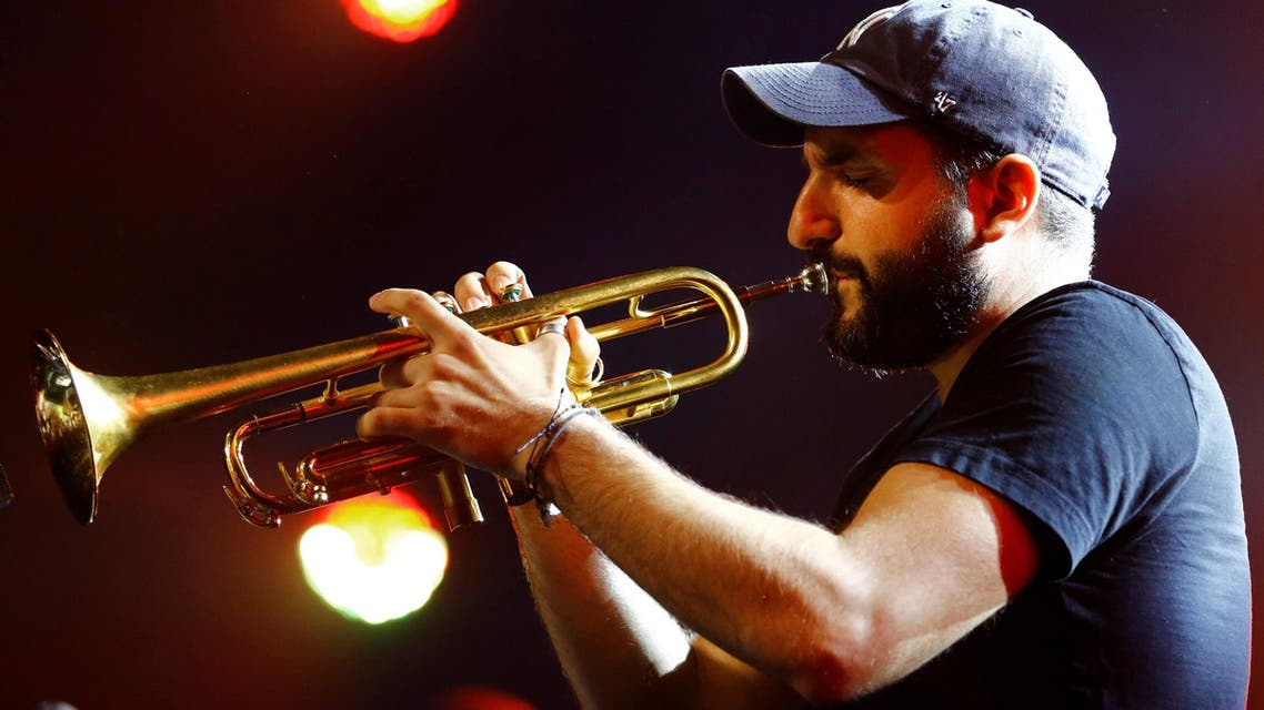 French-Lebanese trumpet player Ibrahim Maalouf performs during his first appearance at the 51st Montreux Jazz Festival in Montreux French-Lebanese trumpet player Ibrahim Maalouf performs during his first appearance at the 51st Montreux Jazz Festival in Montreux, Switzerland, July 13, 2017. REUTERS/Pierre Albouy