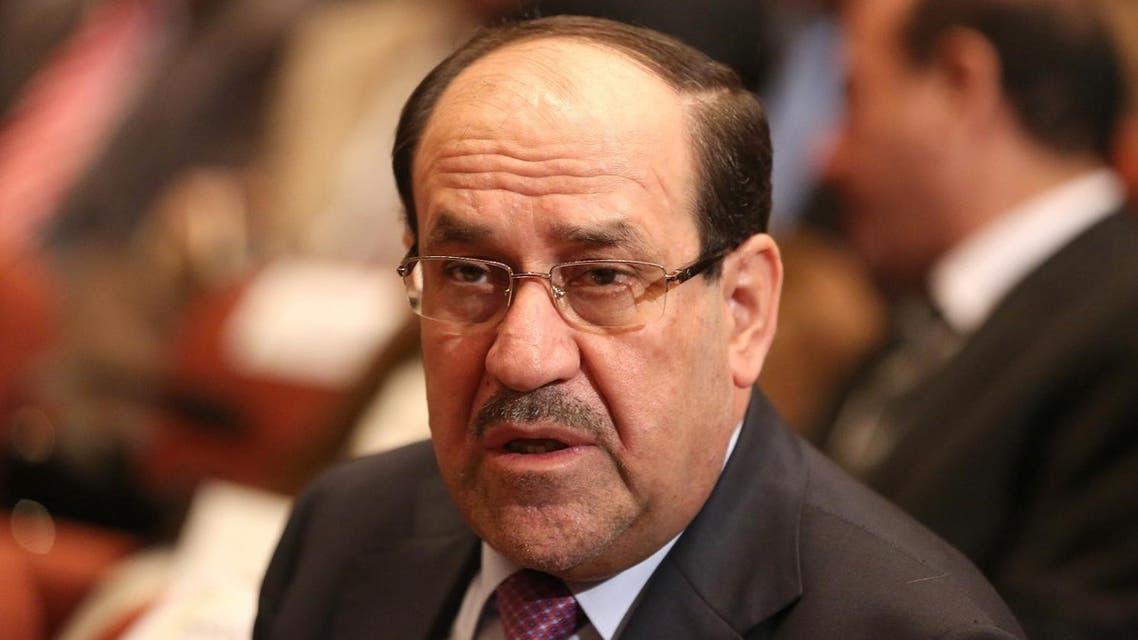 Nouri al-Maliki attends Parliament session in Baghdad on Sept. 8, 2014. (AP)