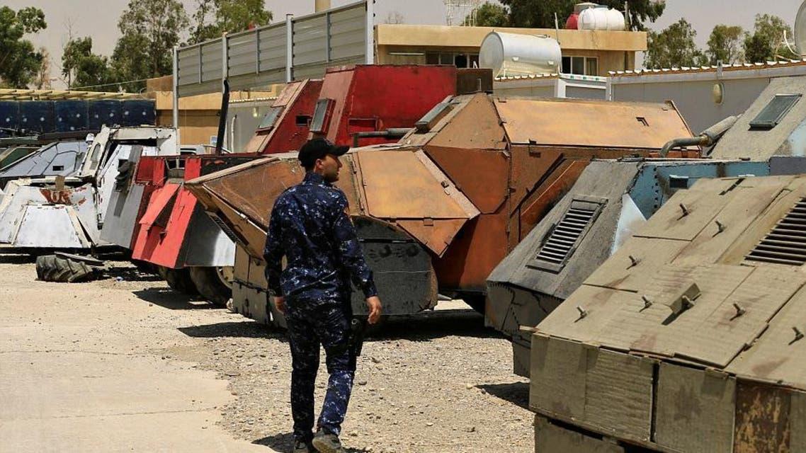 مركبات داعش  2