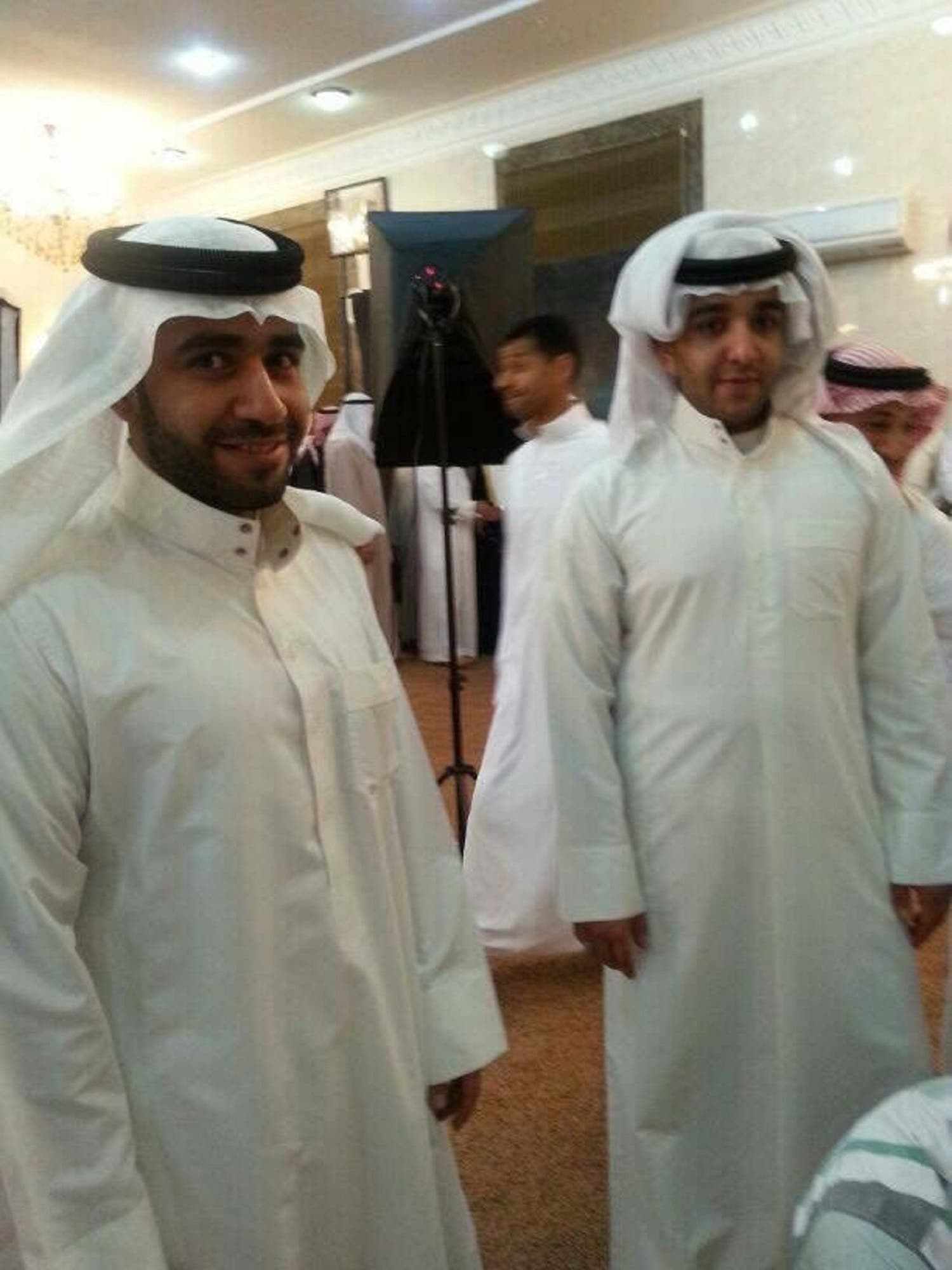 Ali and Hassan Al Abdullah. (Supplied)