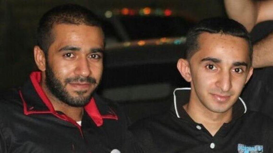 Terrorist Ali Al-Abdullah with his brother Hussein. (Supplied)