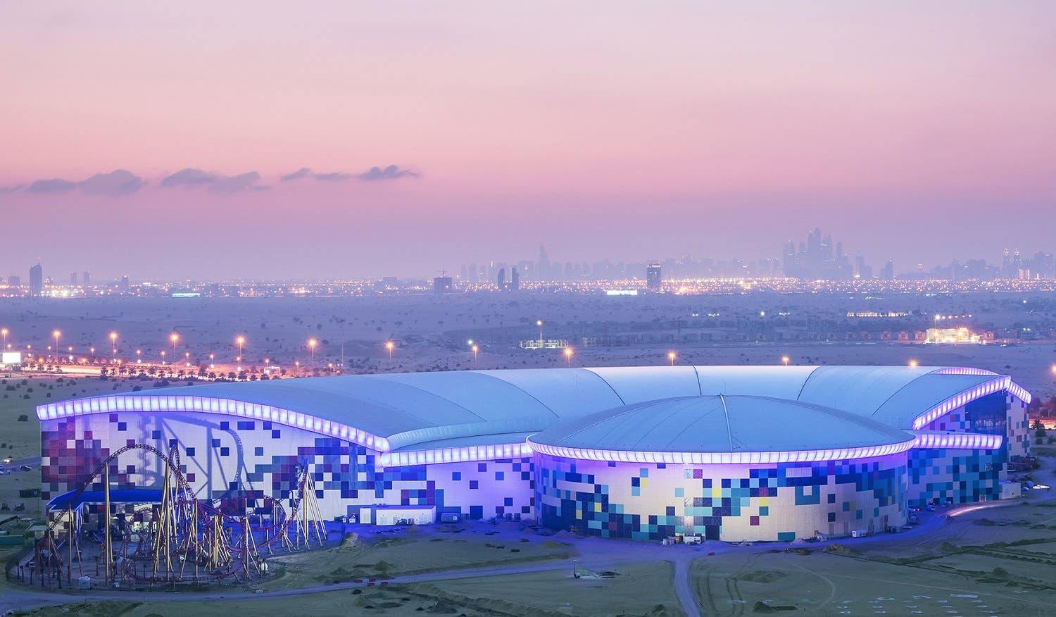 IMG Worlds of Adventure in Dubai, the world's largest indoor theme park. (Supplied)