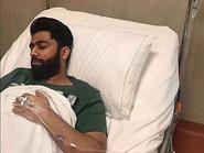 بعد الغيبوبة.. خالد بوصخر يتجاوز أزمته الصحية