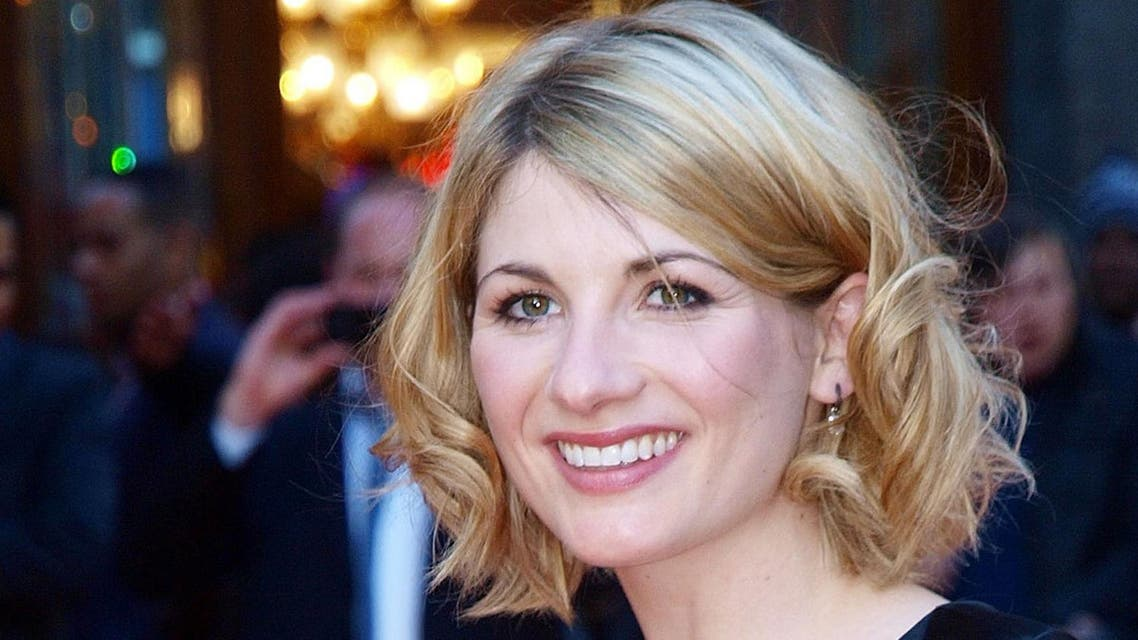 "British actress Jodie Whittaker was unveiled as the first woman to play ""Doctor Who"" in the cult BBC science fiction series. (AFP)"