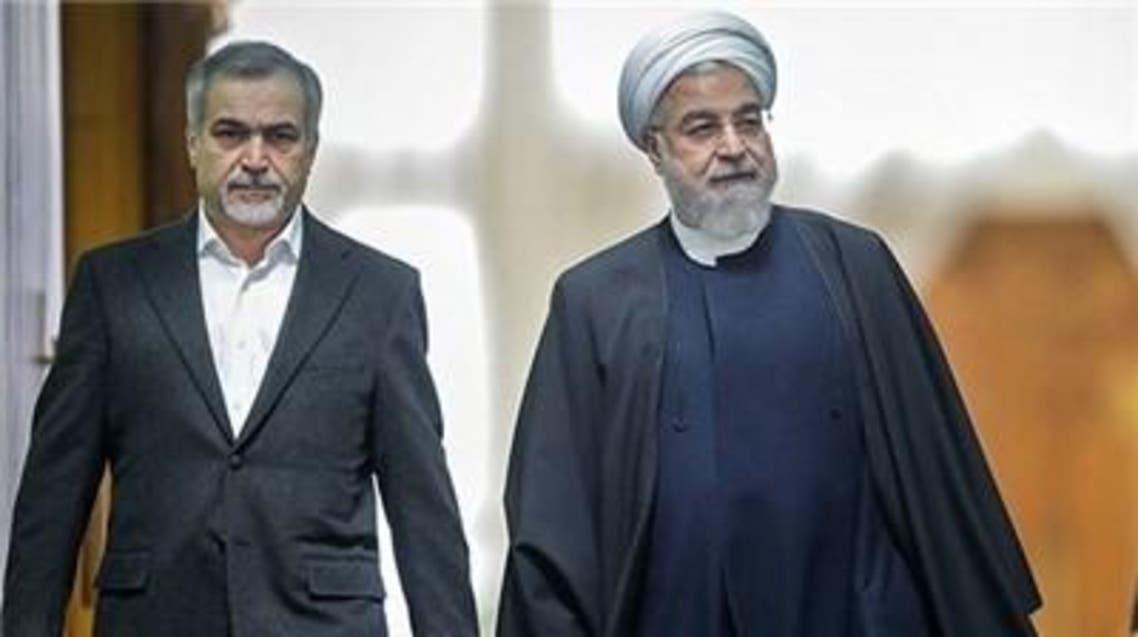 روحاني وشقيقه حسين فريدون