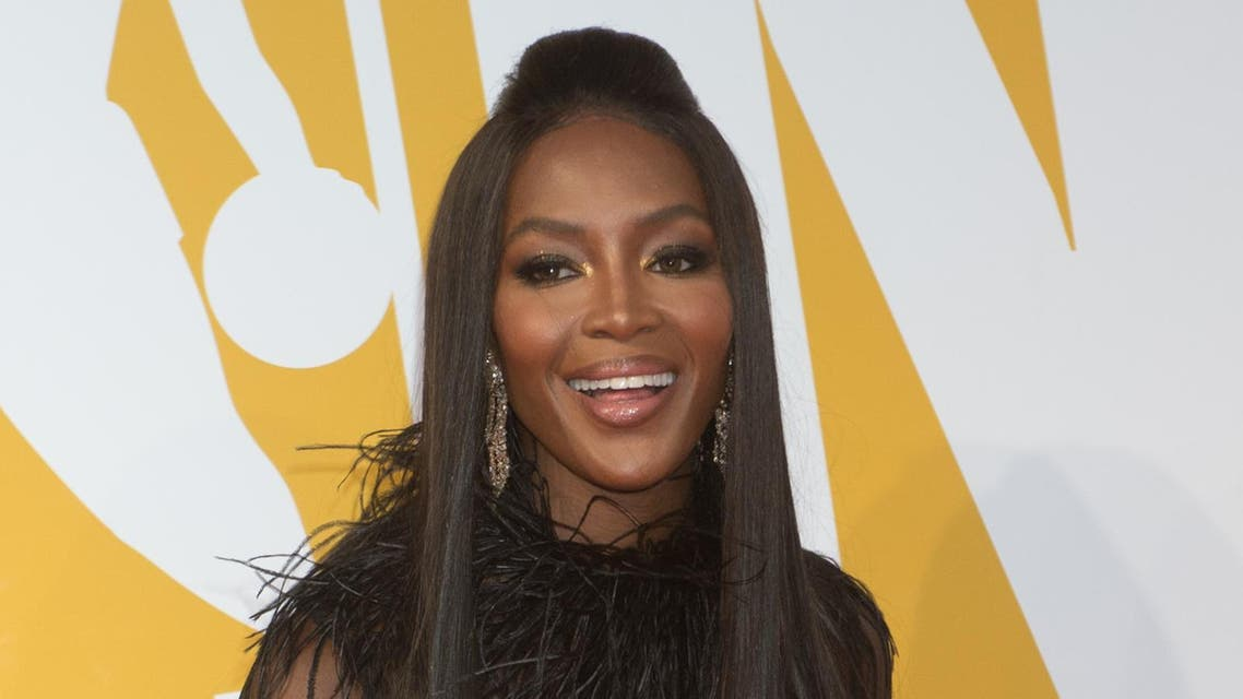 Naomi Campbell arrives to the NBA Awards at Basketball City on June 26, 2017 in New York. Bryan R. Smith / AFP