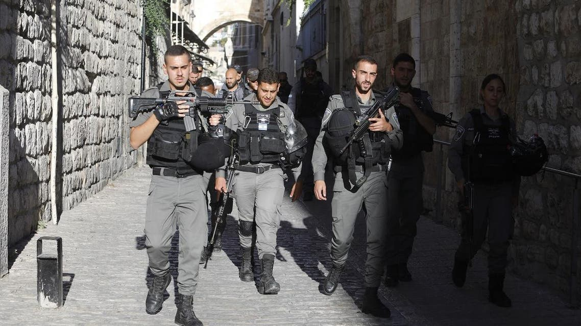 Israeli soldiers and police shot dead a Palestinian who attempted to open fire at them early Sunday. (File Photo: AFP)