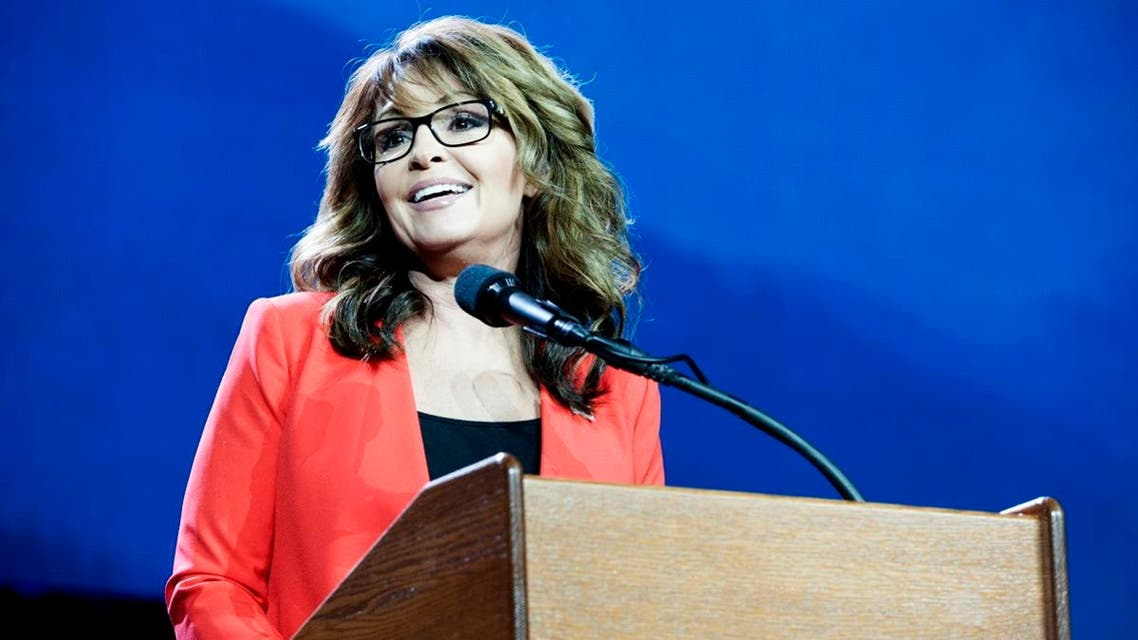 Former Alaska Governor and 2008 Republican party Vice Presidential nominee Sarah Palin addresses the audience at the 2016 Western Conservative Summit in Denver, Colorado on July 1, 2016. (AFP)