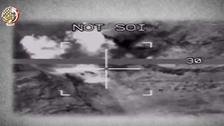 بالفيديو.. الجيش المصري يدمر شحنات أسلحة مهربة