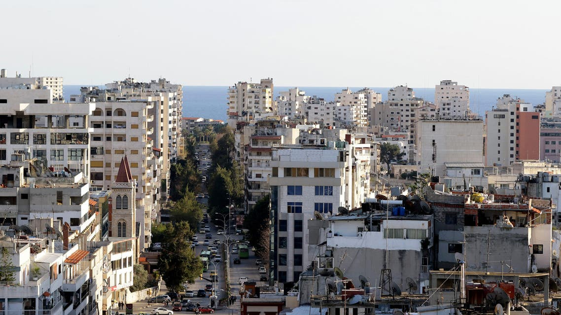 A picture of the coastal city of Latakia, the provincial capital of the heartland of Syrian president's Alawite sect, on March 17, 2016.