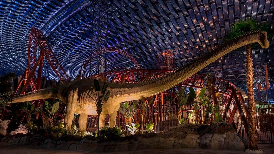 'Lost Valley-Dinosaur Adventure' at IMG Worlds of Adventure in Dubai. (Supplied)