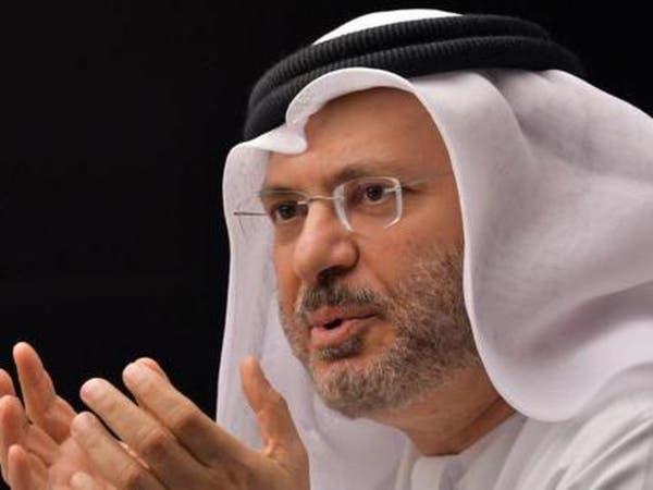 قرقاش مغردا حول قطر: أبشروا بالخير مع ولي العهد السعودي