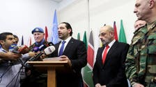 Hariri: Lebanon's army to carry out operation near Syrian border